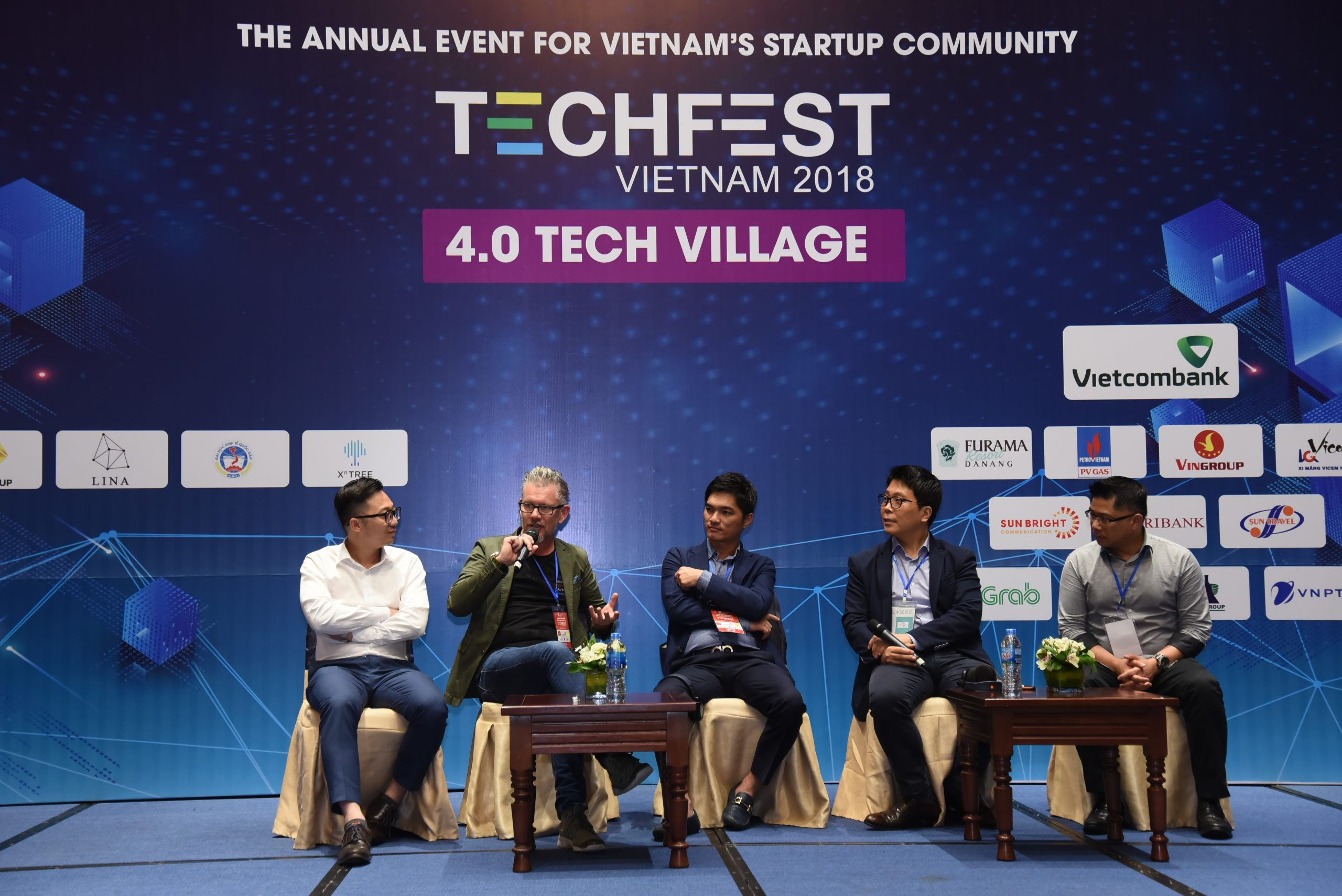 Lina Network at Tech Fest in Danang 2018