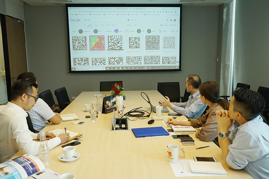 GS1 representative talked about the benefits of Barcode