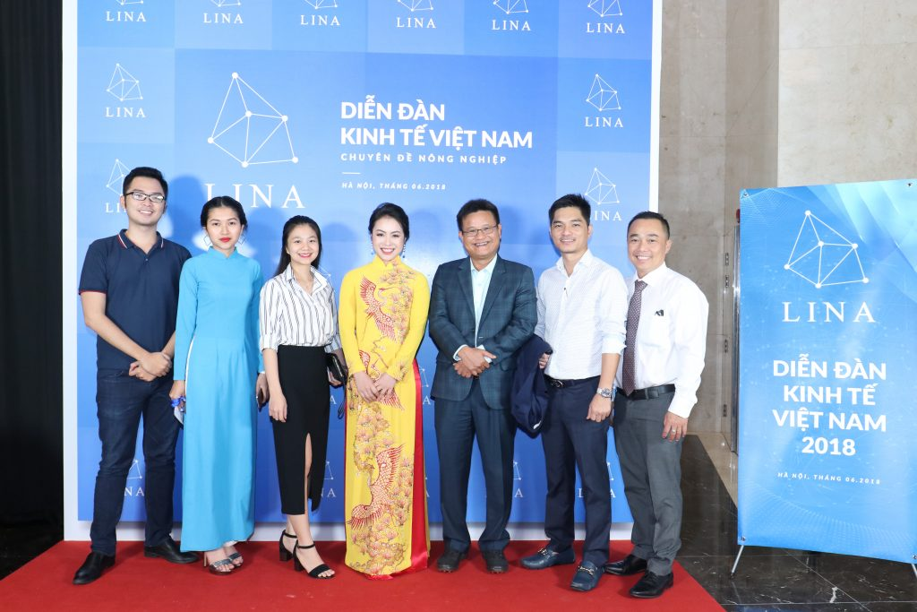 Lina Network at Economic Vietnam Forum in 2018
