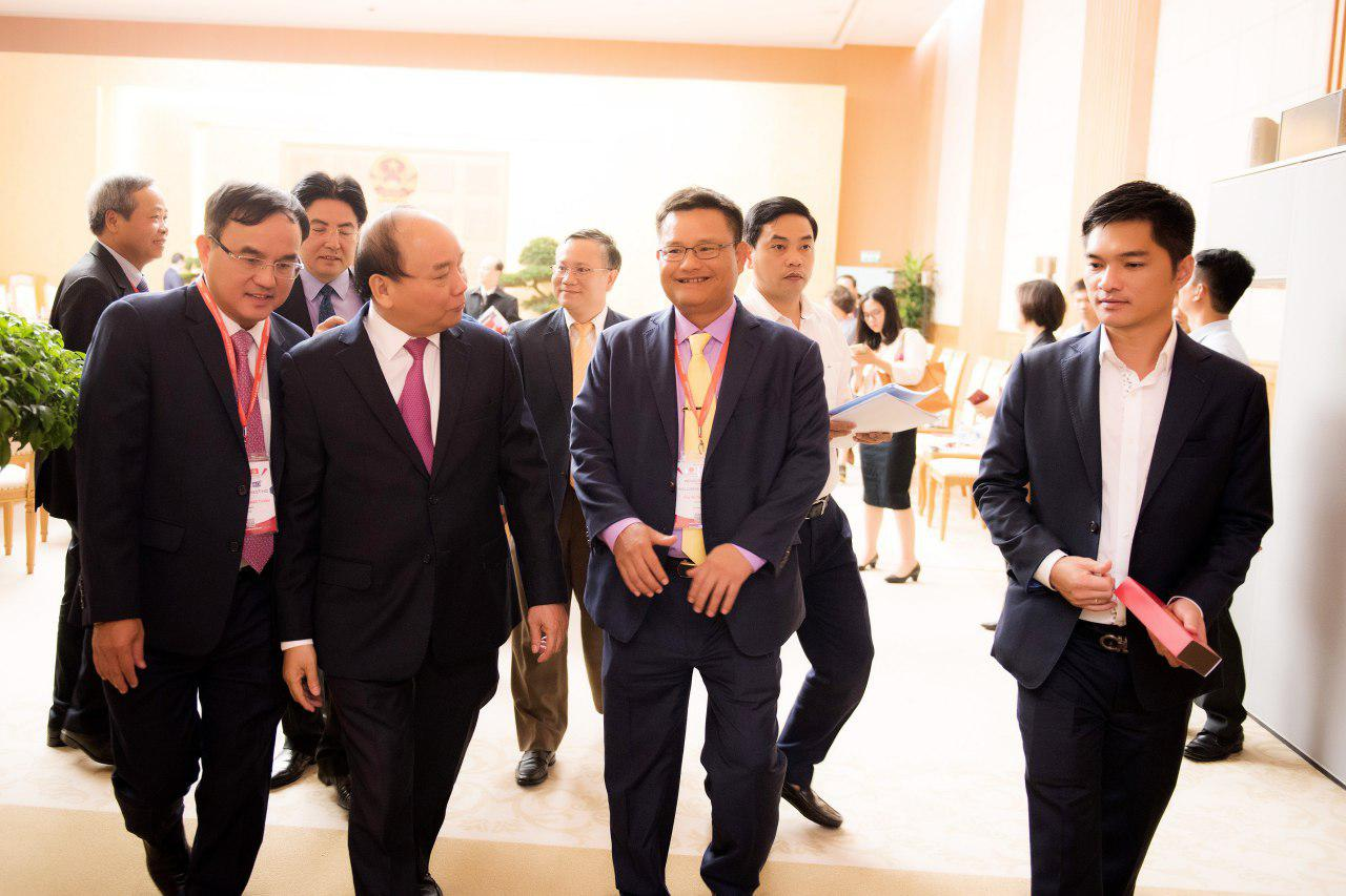 Lina Network participated in Industry Summit 4.0 with the Prime Minister Mr. Nguyen Xuan Phuc