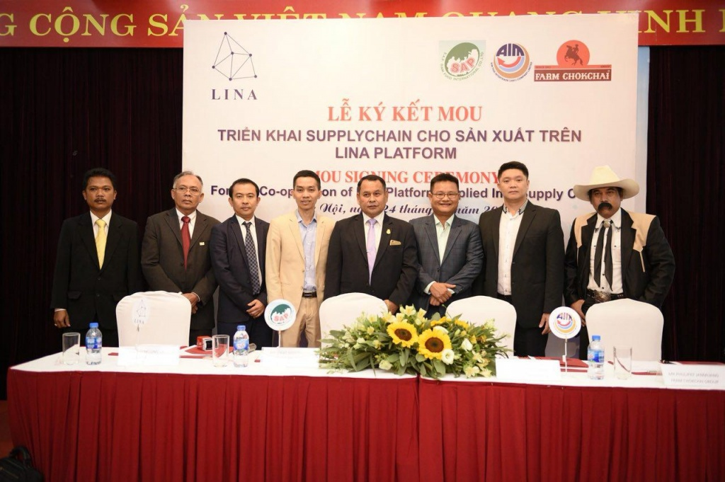 Lina Network officially becomes strategic partner with 8 Thailand Enterprises