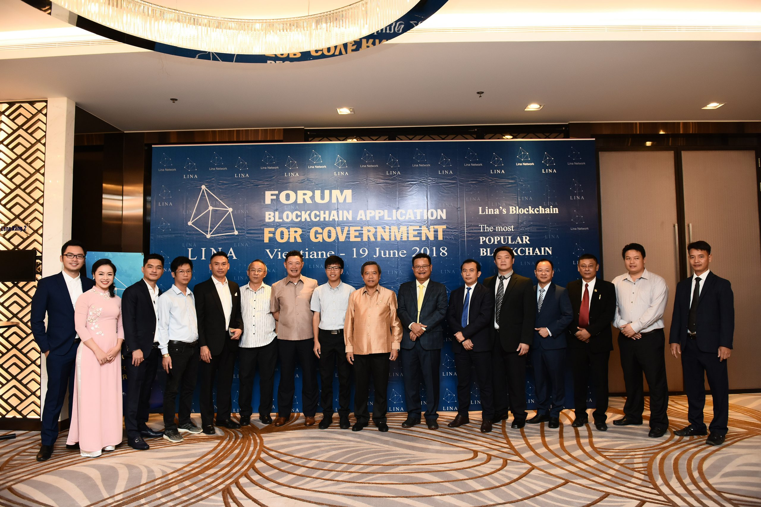 Lina Network build e-Goverment for Laos