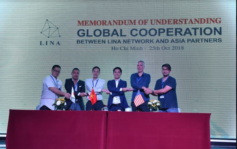 Lina FarmTrust's official launch in Thailand