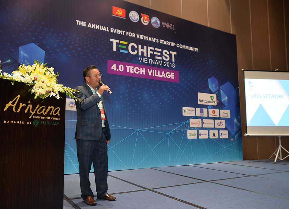 Lina Network at Techfest 2018