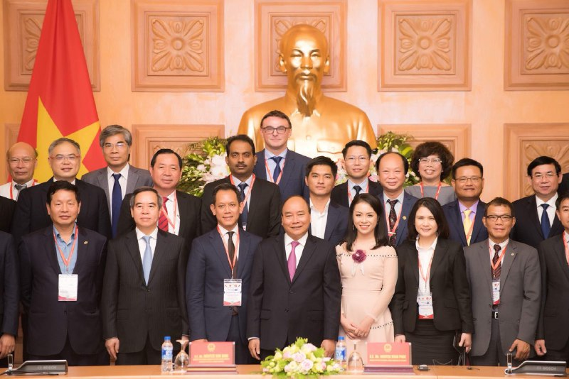 Lina Network in an event with Prime Minister Nguyen Xuan Phuc