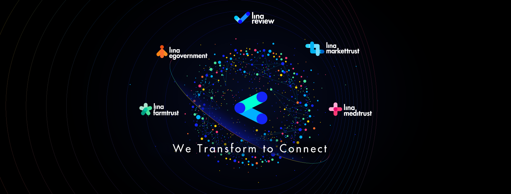 Lina Network officially transform the brand identity