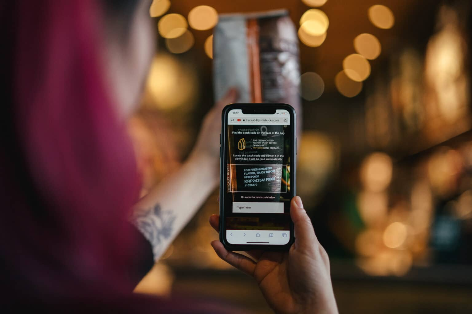 "Starbucks' traceability app launches the ""bean-to-cup"" journey"